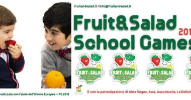 Fruit & Salad School Games, l'educazione alimentare riparte dalla Capitale Europea della Cultura.
