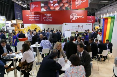 Stand Perù a Fruit Logistica
